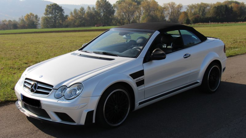 Mersedes AMG weiss pearl